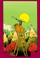 Adventure Time Cover by Paul Pope by whoisrico