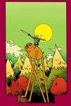 Adventure Time Cover by Paul Pope