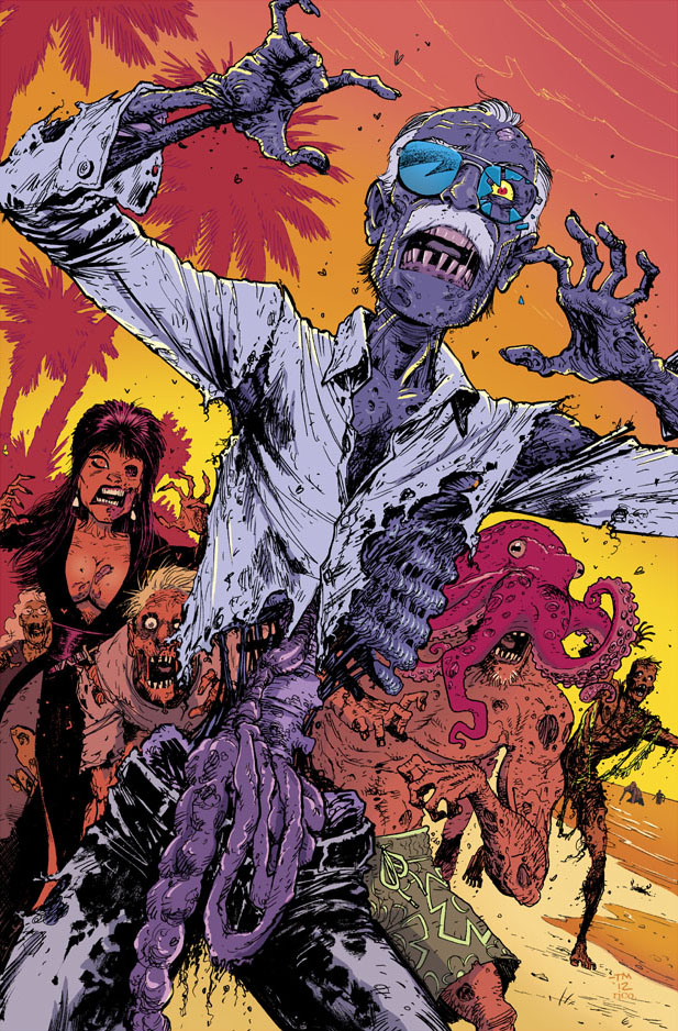 Zombie Stan Lee by Tony Moore by whoisrico