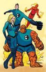 Fantastic Four by Wilfredo Torres