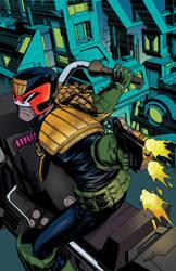 Judge Dredd #6 by Mike McKone by whoisrico