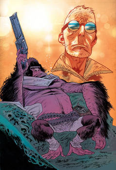 Six-Gun Gorilla #1 Variant Cover by James Harren