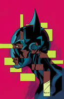 Batwing #28 cover by Mike McKone by whoisrico