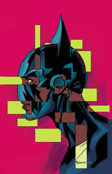Batwing #28 cover by Mike McKone