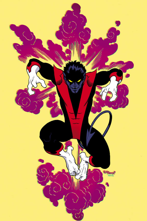 Classic Nightcrawler by Ed McGuinness by whoisrico