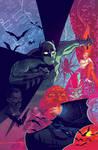 Arkham Manor #2 cover by Chris Brunner