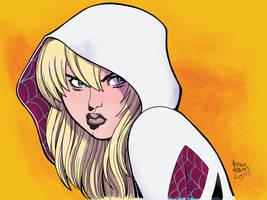 Spider-Gwen by Arthur Adams