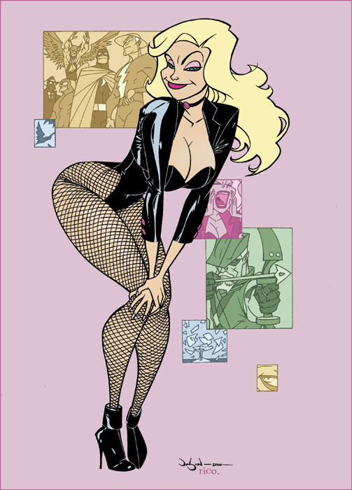 Black Canary by Pearson by whoisrico