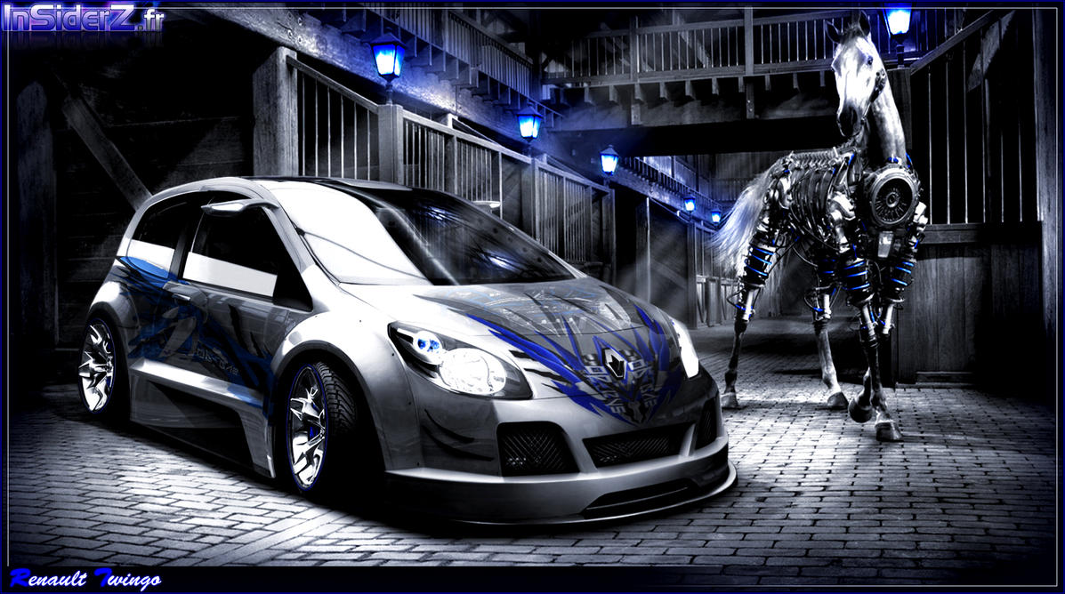 renault twingo ii rs by jidens on deviantart. Black Bedroom Furniture Sets. Home Design Ideas