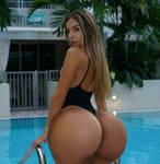 Poolside Booty