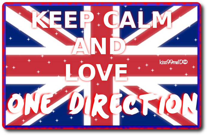 Keep Calm And Love One Direction By Kiss99me1D