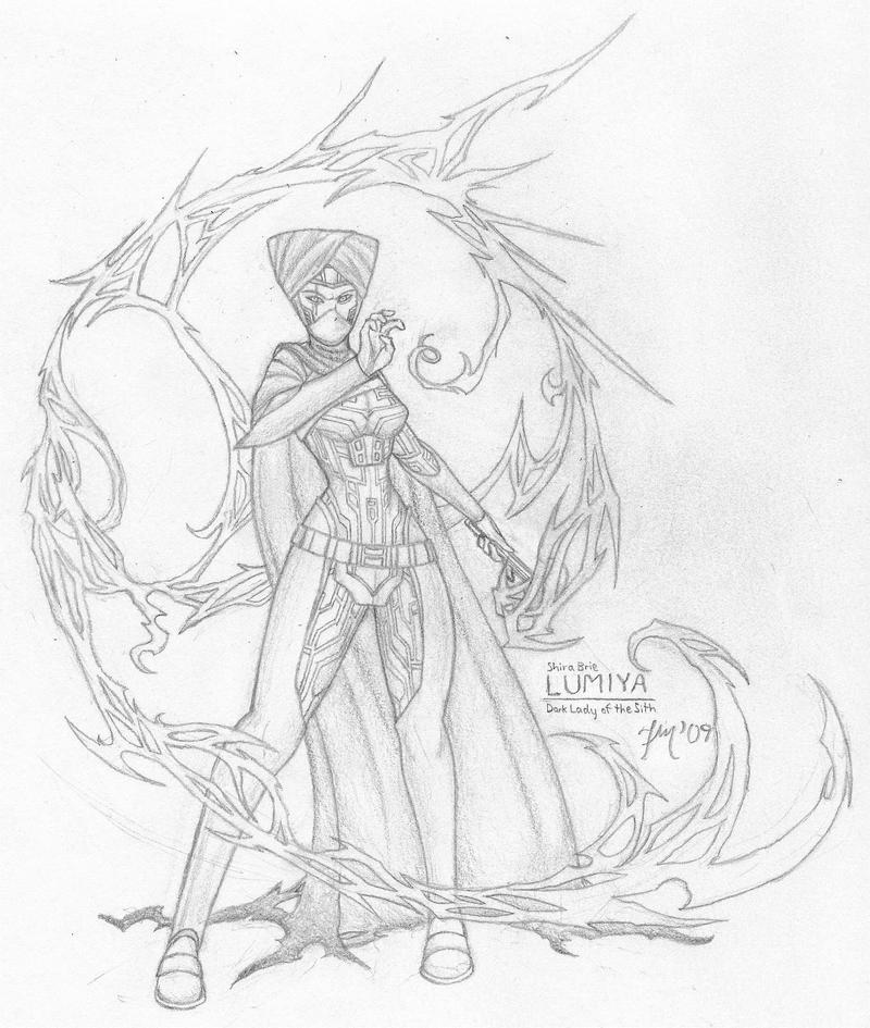 Sith Dynasty - Lady Lumiya by LeadZero