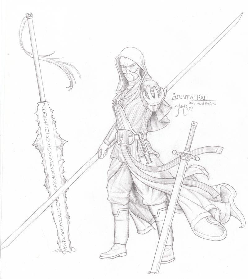 Sith Dynasty - Ajunta Pall by LeadZero