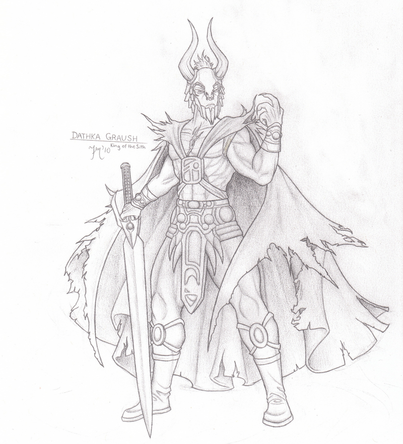 Force Character Design From Life Drawing Ebook : Sith dynasty dathka graush by leadzero on deviantart