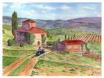 Vespa Tuscany.-