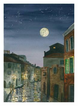 Quiet Venice.-