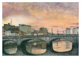 Cork Sunrise.- by themaninthehatart