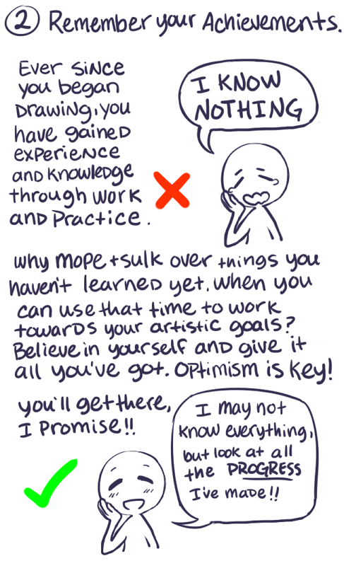 How to be more confident about your art by jollymutt on deviantart tumblr n8xlk6xjdm1rxqu94o2 540 by jollymutt ccuart Images