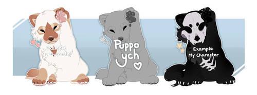 Puppo YCH [open] by JollyMutt