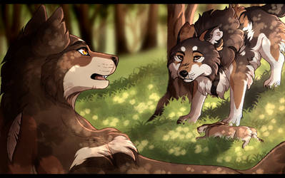Domain-of-the-Wolf:  favourites by xCinderfrostx on DeviantArt