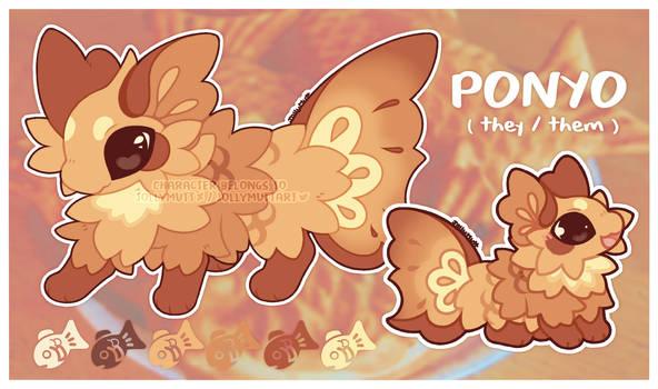 Ponyo - Ref