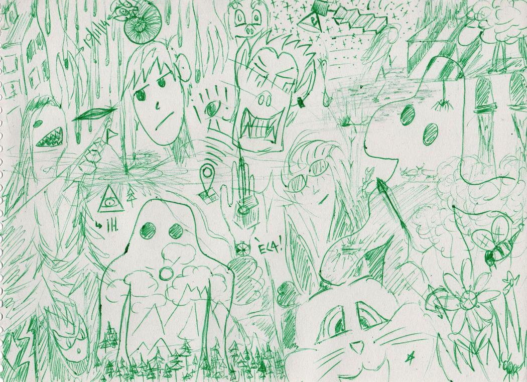 Griffonnage - 19nov2014 by ECAsCLOUD