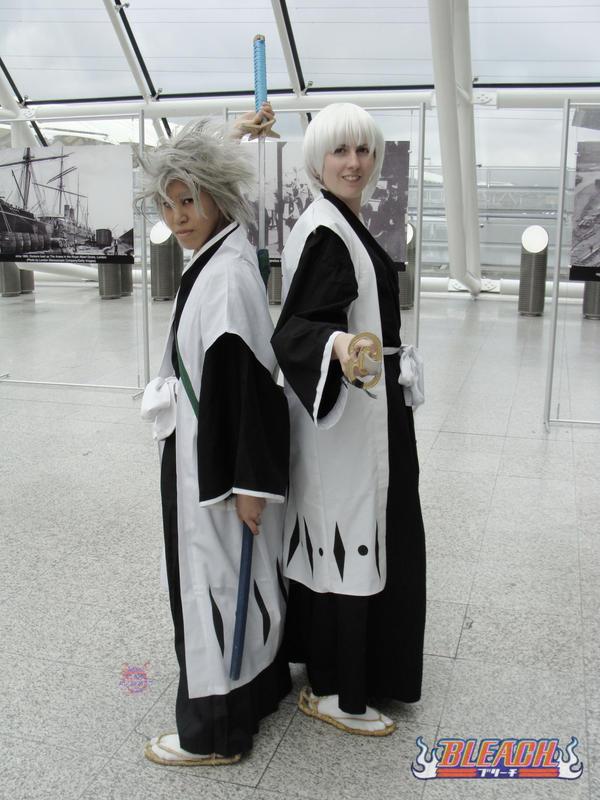 Hitsugaya and Ichimaru by NekoFlameAlchemist