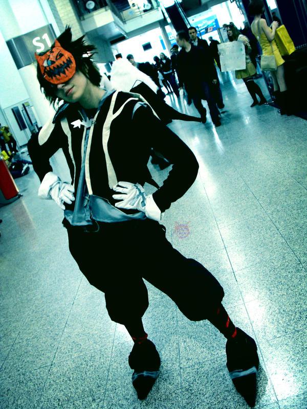 Oct Expo 08: Halloween Sora by NekoFlameAlchemist