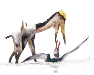 Alanqa attacked Siroccopteryx