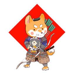 Shiba samurai archer