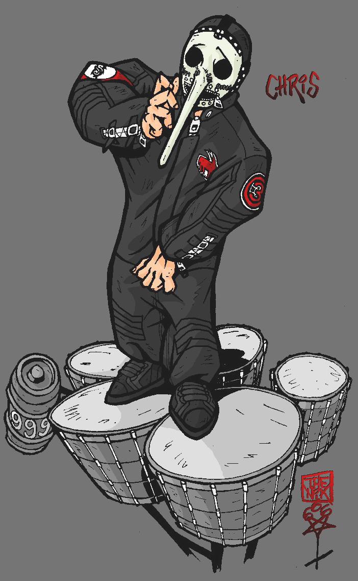 Chris Fehn On Stage By TheNik6SiC6