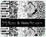 black - white patterns