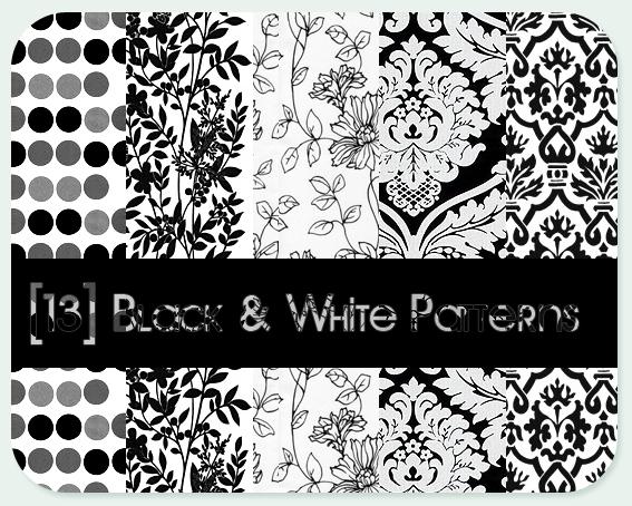 black - white patterns by ZeBiii