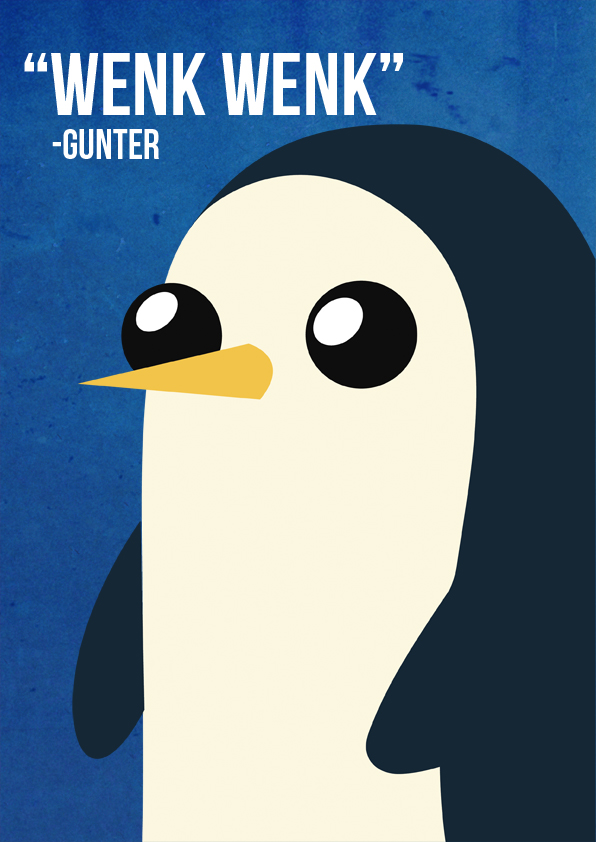 Adventure Time - Gunter by beccyboo-412