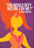 Flame Princess - Adventure Time by beccyboo-412