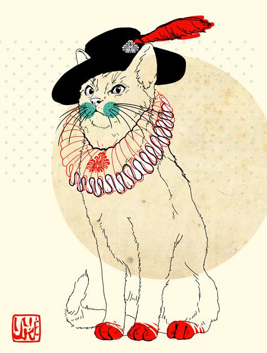 Miszka the Cat by yuke