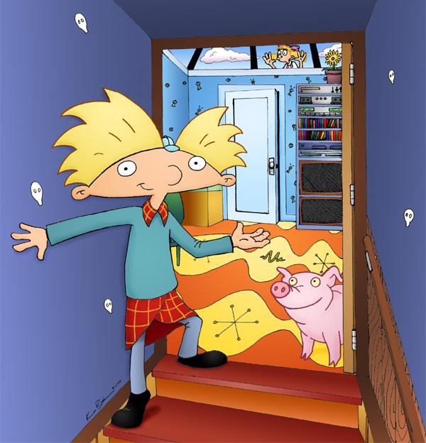 Hey Arnold Bedroom