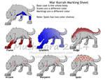 War Korrah Marking by Leland-Doodles