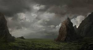 Plains beyond the mountains
