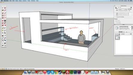 My Dream Studio - a work in progress by Rochnan