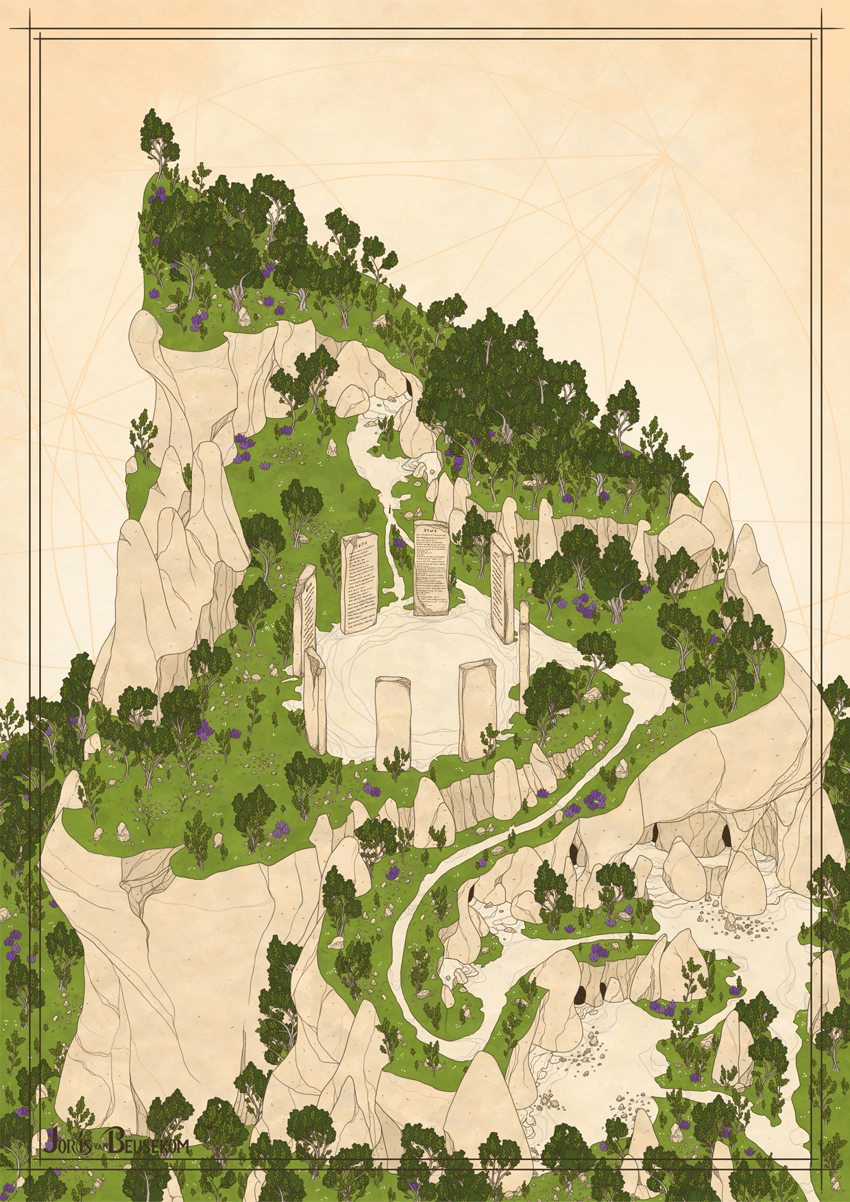 Tirgelan - The Story Circle by Rochnan