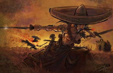 Mariachi Samurai by mistermoster