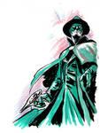 Sketch jam - Green Hornet
