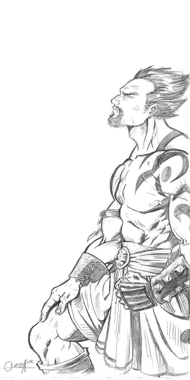 Vegeta by mistermoster