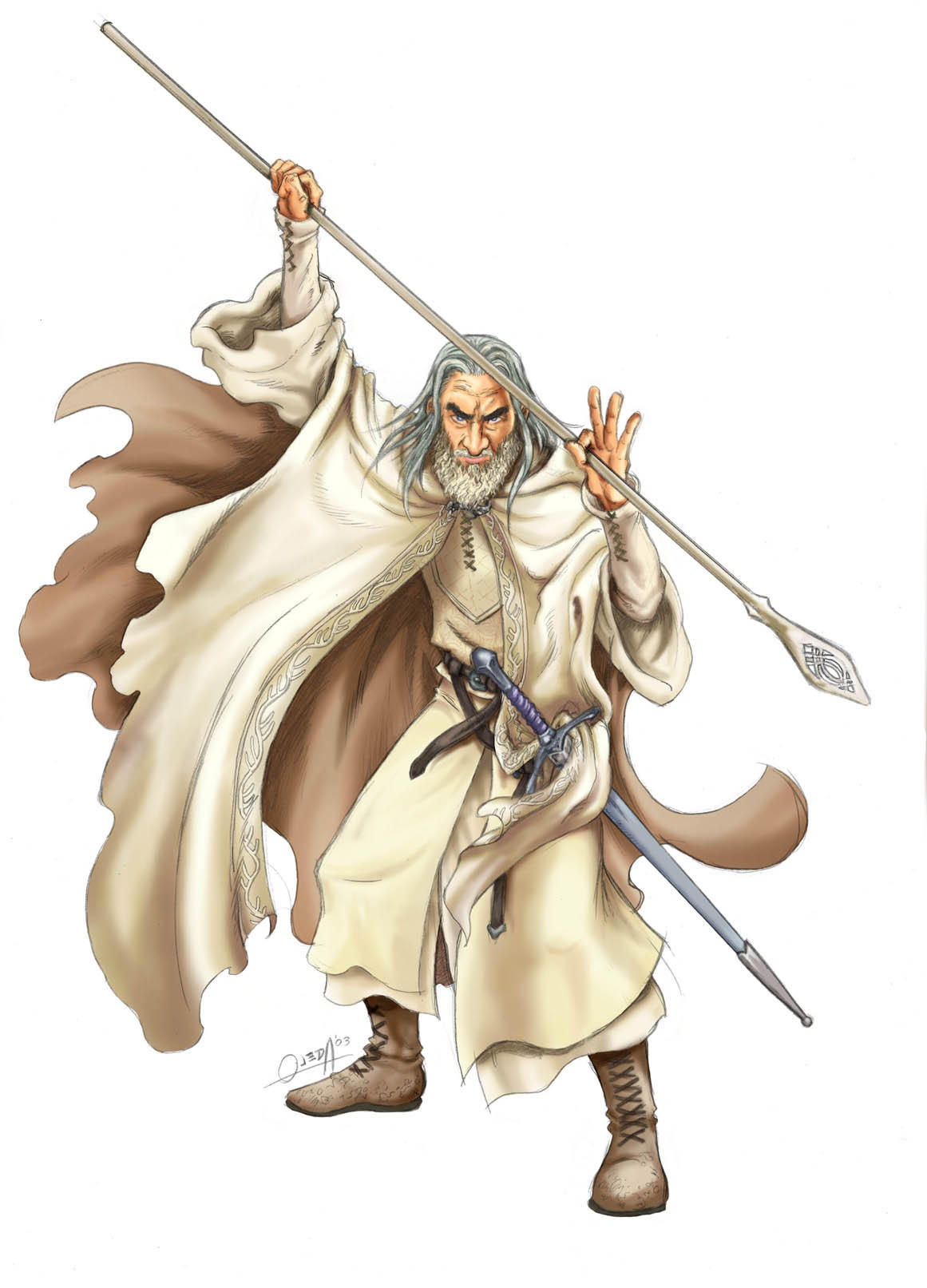 the white wizard