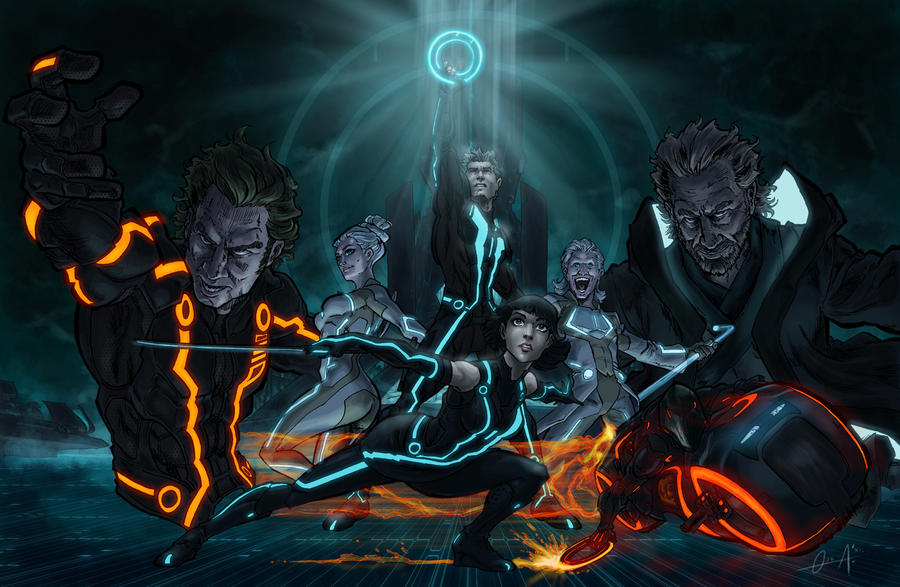 Tron Legacy by mistermonster.deviantart.com