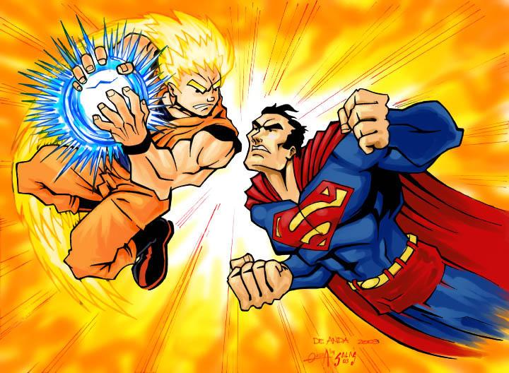 goku ssj3 vs superman - photo #37