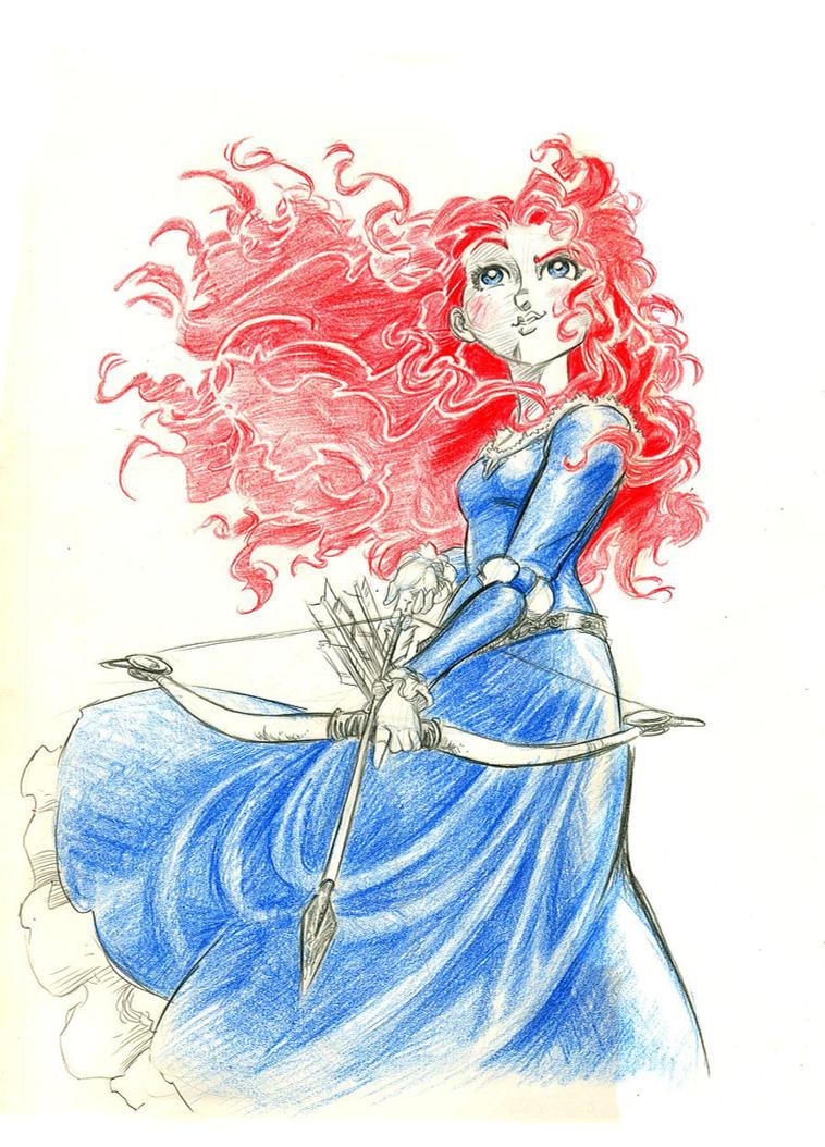 Uncategorized Merida Drawings merida by mistermoster on deviantart mistermoster