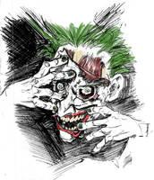 Faceless Joker by mistermoster