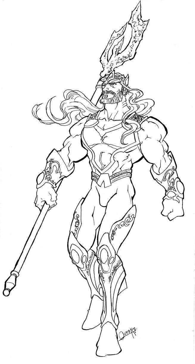 Ultimate JLA Aquaman By Mistermoster On DeviantArt